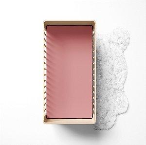 Lençol de elástico berço - Liso Goiaba