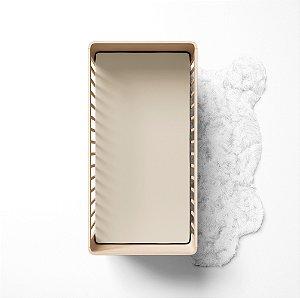 Lençol de elástico berço - Liso Marfim