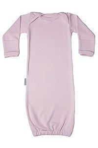 Primeiro Pijama - Manga Longa LIso Rosa