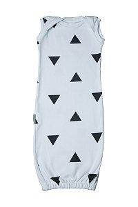 Primeiro Pijama - Regata Estampa Triângulos