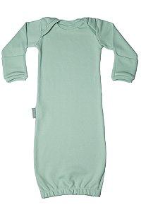 Primeiro Pijama - Manga Longa Liso Verde