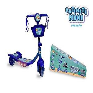 Patinete Mini Tubarão 3 Rodas Zoop Toys - Azul ZP00787