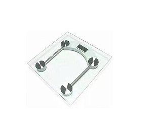Balança Digital Quadrada 180 kg Vidro Temperado - Wincy
