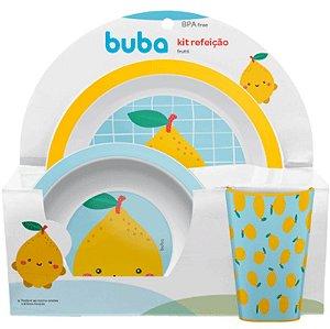 Kit Refeição Frutti- limão buba
