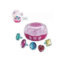 Porta Joias Princesas Mágicas Musical - Zoop Toys