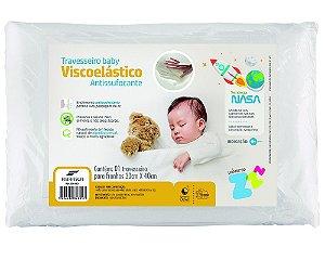 Travesseiro Nasa Baby Anti Sufocante R. N 0+ - Fibrasca