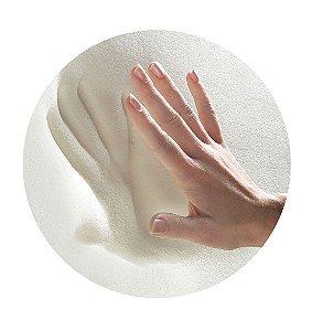 Travesseiro Antissufocante Visco Percal 30x40 cm - Fibrasca