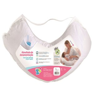 Almofada De Amamentação Basic Branco - 21X86X38 - Fibrasca