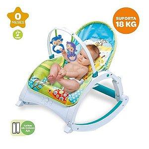Cadeira Bebê Descanso Vibratória Musical Balanço - Zoop Toys - ZP00667