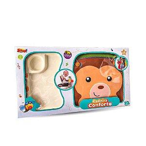 Cadeirinha Alimentação Portátil - Macaquinho - Zoop Toys