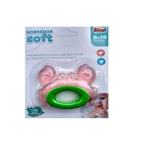 Mordedor Soft Caranguejo - Zoop Toys