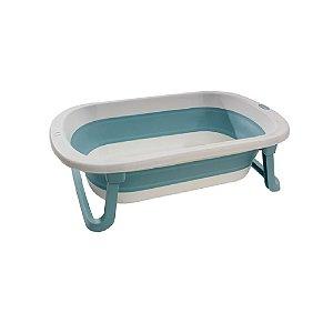 Banheira Dobrável Infantil Azul - KaBaby