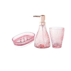 Kit Banheiro Pink 3Pçs c/ 2  - Wincy