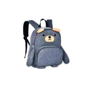 Mochila Infantil Passeio Moletom Urso - Clio Style