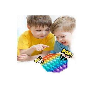 Pura Diversão – Pop Fun – Hexágono Arco Iris