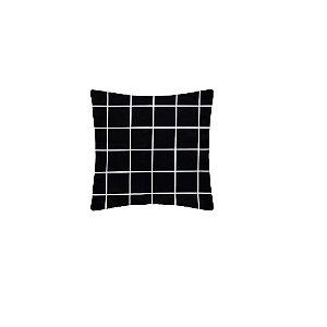 Capa de almofada Grid Preta – FWB