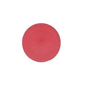 Jogo Americano de Plástico 37,5 CM Vermelho c/2 - FWB