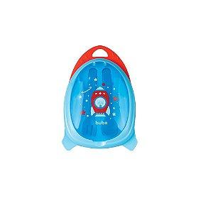 Kit Refeição Com Talher - Foguete Azul - Buba