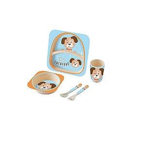 Kit Alimentação Baby 5 Peças Cachorro - Zoop Toys
