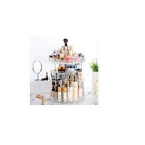 Organizador Acrílico Giratório p/jóias/maquiagem- Interponte