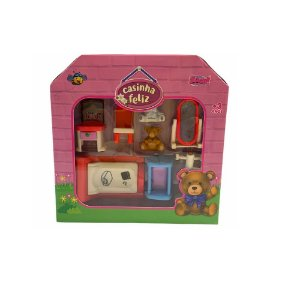 Miniaturas Happy Family Quarto - Zoop Toys