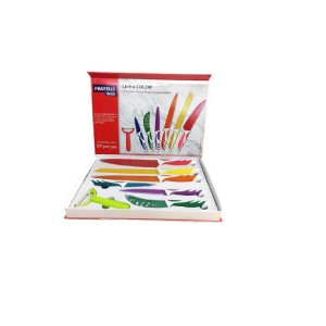 Conjunto 7 Peças Color Em Inox - Fratelli