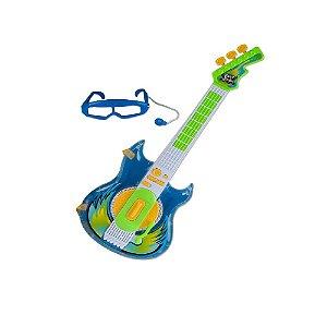 Guitarra Rock Star Azul Zoop Toys