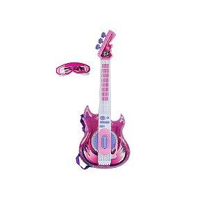 Guitarra Rock Star Rosa Zoop Toys