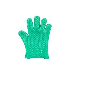 Luva de Silicone Verde Claro - Wincy