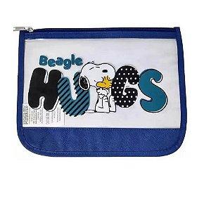 Necessaire Snoopy Azul SP3907AZ