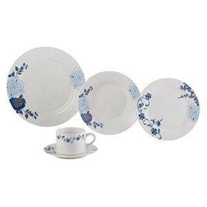 Aparelho de Jantar 20pc de Porcelana Classic Lyor