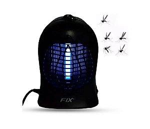 Luminária Mata Mosquito 110 V Preta Fix