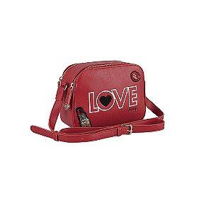 Bolsa Transversal Vermelha Betty Boop BP2901