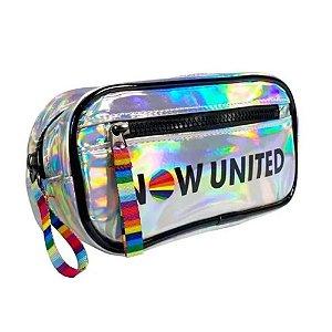 Necessaire Now United Original Prata NU3278PR