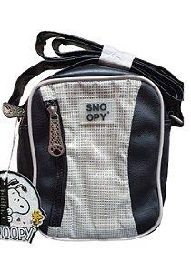 Bolsa Transversal Snoopy Preta SP12001PT