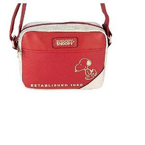Bolsa Transversal Snoopy Vermelha SP12002VM