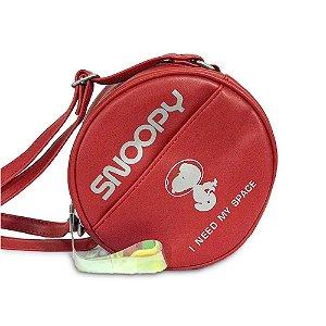 Bolsa Transversal Space Time Snoopy Vermelha SP5901VM