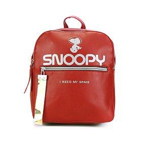 Mochila Space Time Snoopy Vermelha SP5904VM
