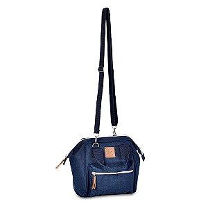 Bolsa Mommy Bag Pequena Azul Marinho MM3264