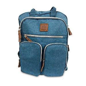 Mochila Mommy Bag Azul Claro MM3302