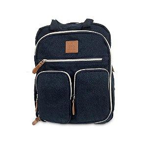 Mochila Mommy Bag Azul Escuro MM3302