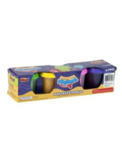 Loucos Por Massinha - 4 Potes - Zoop Toys