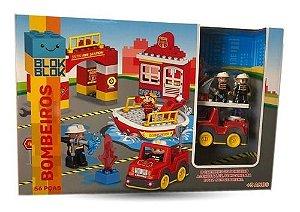 Blocos De Construção - Bombeiros - Zp00750 - Zoop Toys