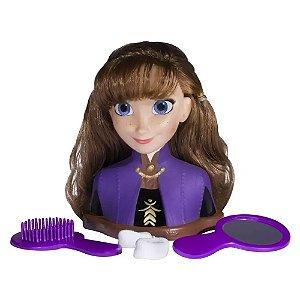 Boneca Anna Frozen Ii Styling Heads Disney