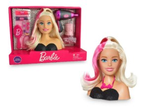 Busto Barbie Styling Head Hair - Pupee