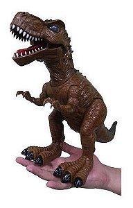 Coleção Dinossauros - Tiranossauro Rex Com Luz E Som - Zoop