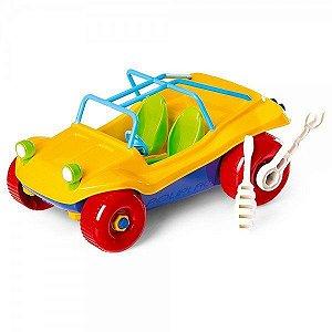 Brinquedo carrinho Buggy didático - Poliplac