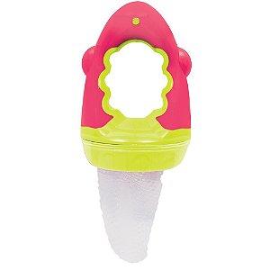 Porta Frutinha Baby com rede - Rosa - buba