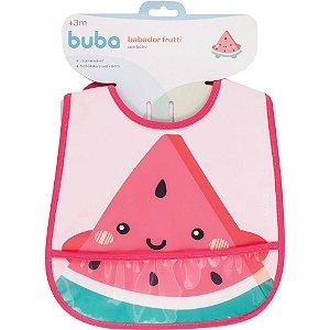 Babador com bolso Frutti - Melancia buba