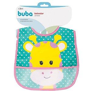 Babador com bolso Animal Fun - Girafa buba